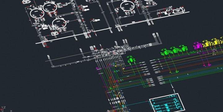 Preparing Piping & Instrumentation Diagrams using 3D laser scanning technology