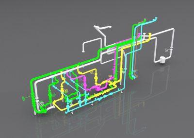 3D Model of a Road Loading Bay