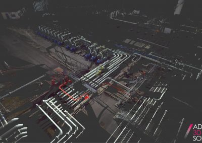 Tank Terminal Pump Station Point cloud