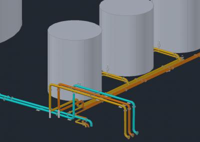 Plant 3D Model of a process site