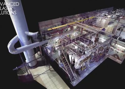 PointCloud of a process facility