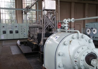 Boiler Room of a process site
