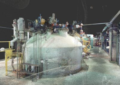 Petrochemical Point cloud of a Chemical Plant ALS
