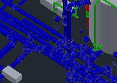 Auto desk Plant 3d Process Model Chemical Plant
