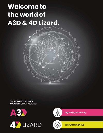 Welcome to the world of A3D & 4D Lizard Advert