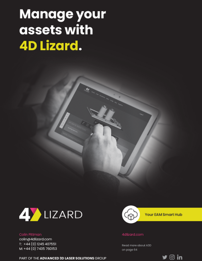 Manage Your Assets with 4D lizard Advert